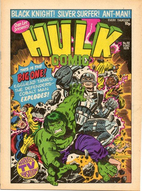 Hulk Comic (UK) Vol 1 40