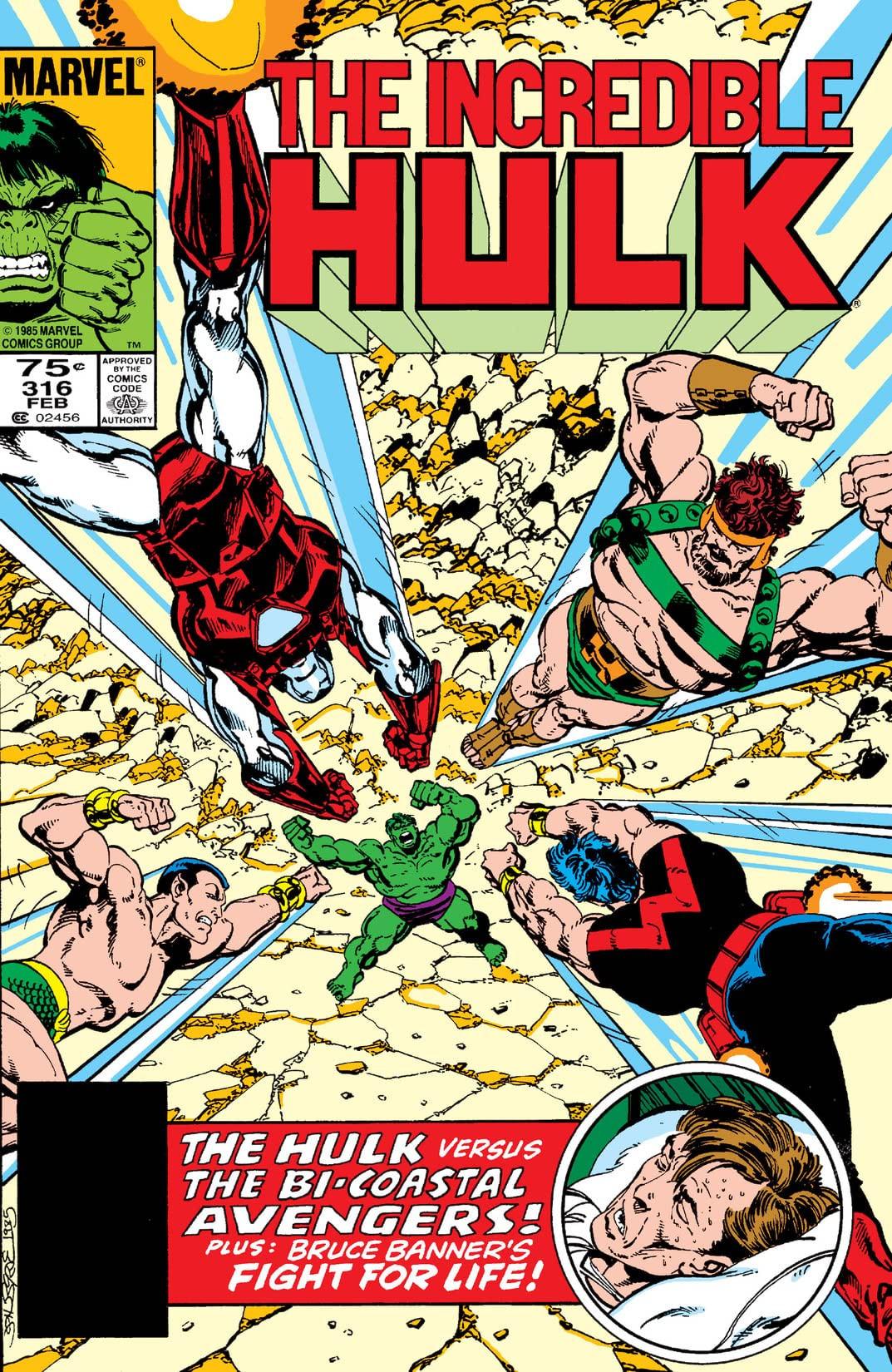 Incredible Hulk Vol 1 316
