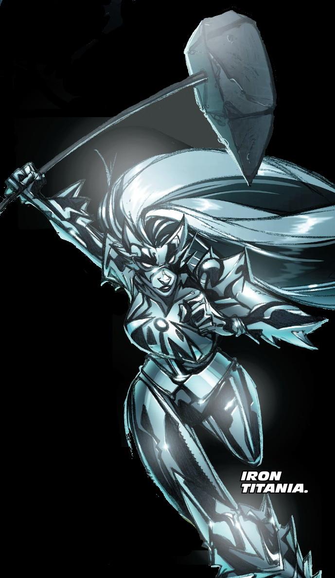 Iron Titania (Warp World) (Earth-616)