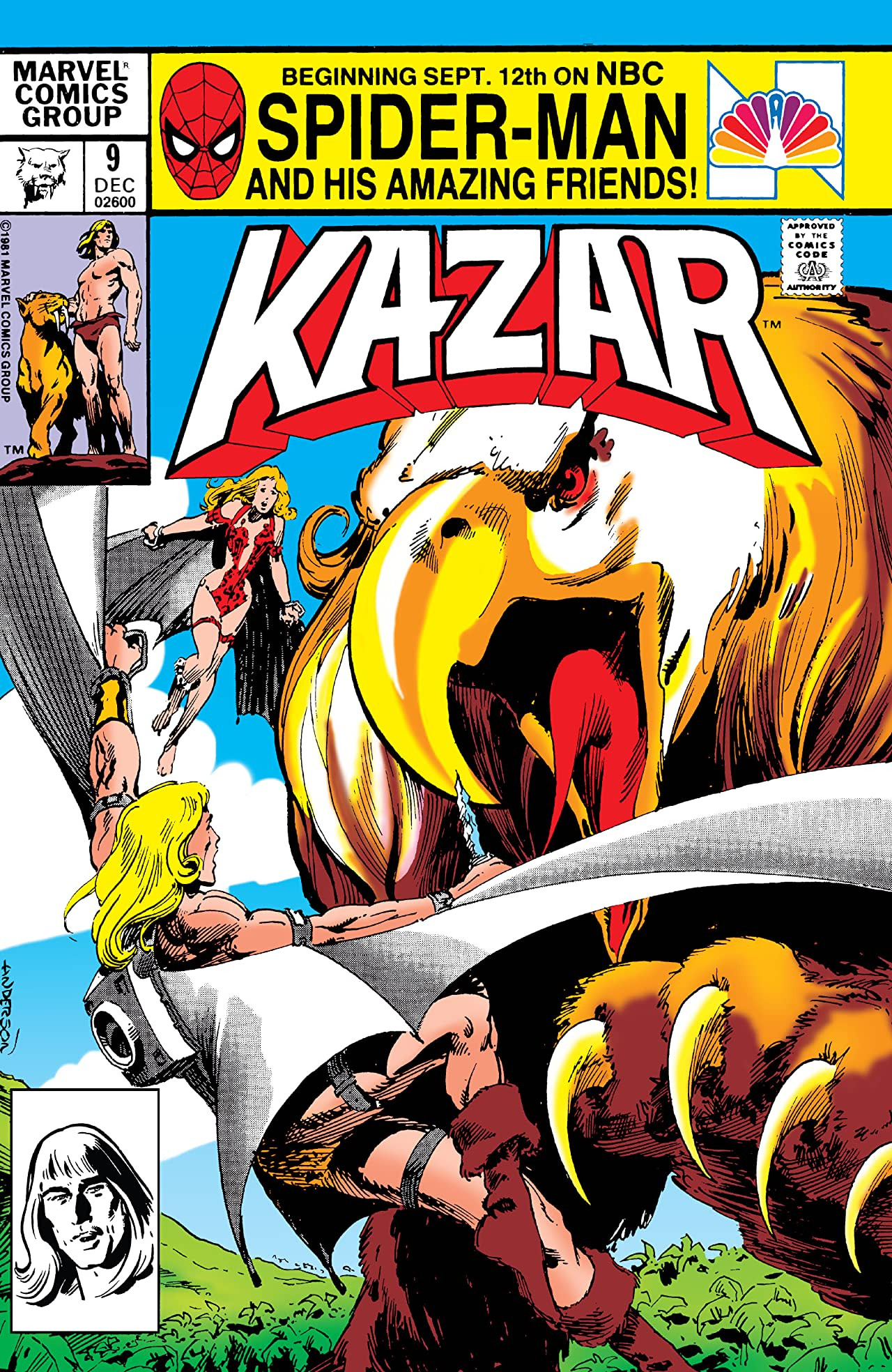 Ka-Zar the Savage Vol 1 9