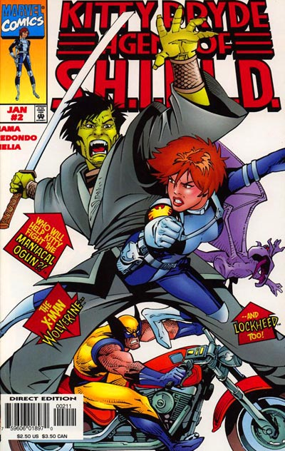 Kitty Pryde: Agent of S.H.I.E.L.D. Vol 1 2