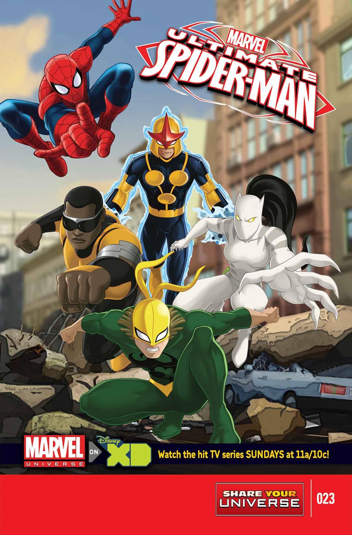 Marvel Universe: Ultimate Spider-Man Vol 1 23