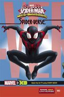 Marvel Universe Ultimate Spider Man Web Warriors Spider-Verse Vol 1 3