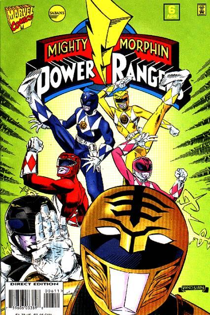 Saban's Mighty Morphin Power Rangers Vol 1 6