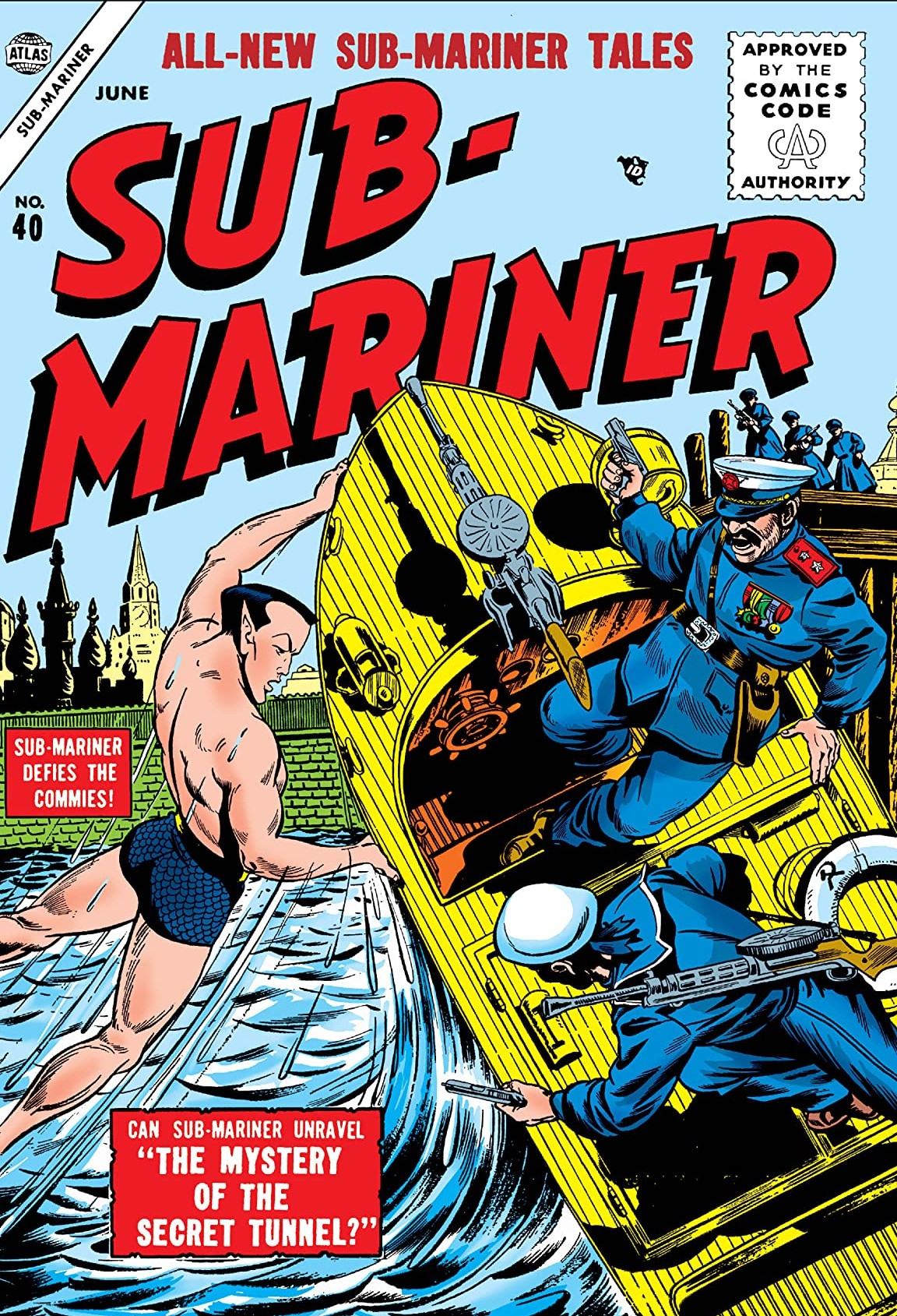 Sub-Mariner Comics Vol 1 40