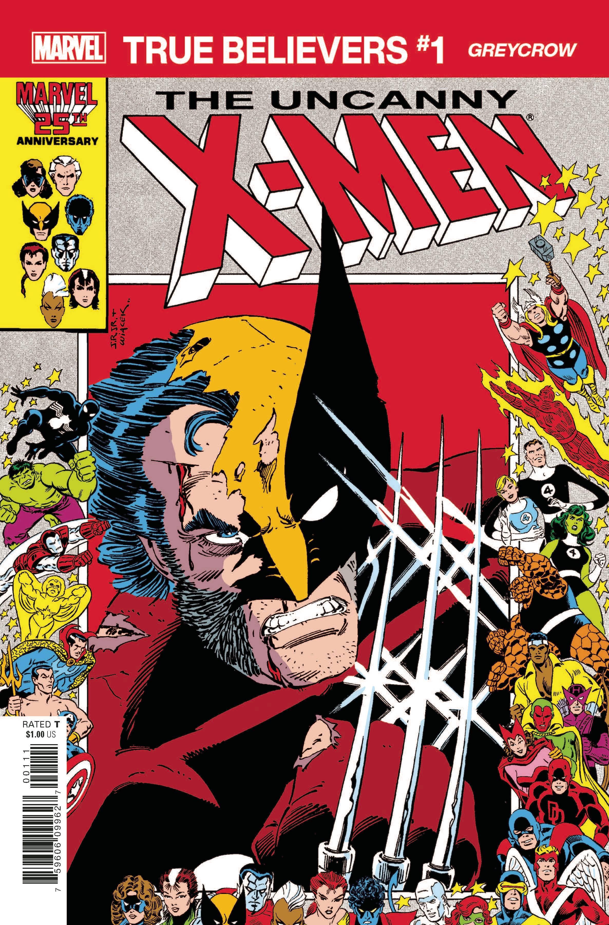 True Believers: X-Men - Greycrow Vol 1 1
