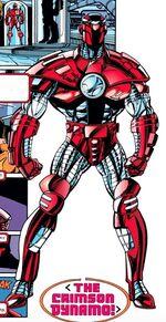 Crimson Dynamo Armor Mark V