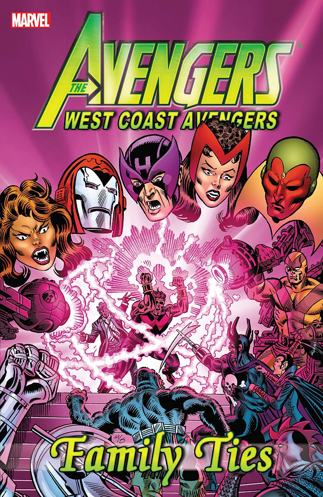 Avengers: West Coast Avengers - Family Ties TPB Vol 1 1