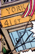 41st Precinct Station House from Avengers Vol 1 341 001