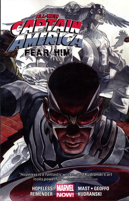 All-New Captain America: Fear Him TPB Vol 1 1