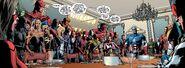 Avengers (Earth-616), New Avengers (Earth-616) and Secret Avengers (Black Ops Unit) (Earth-616) from New Avengers Vol 2 24 001