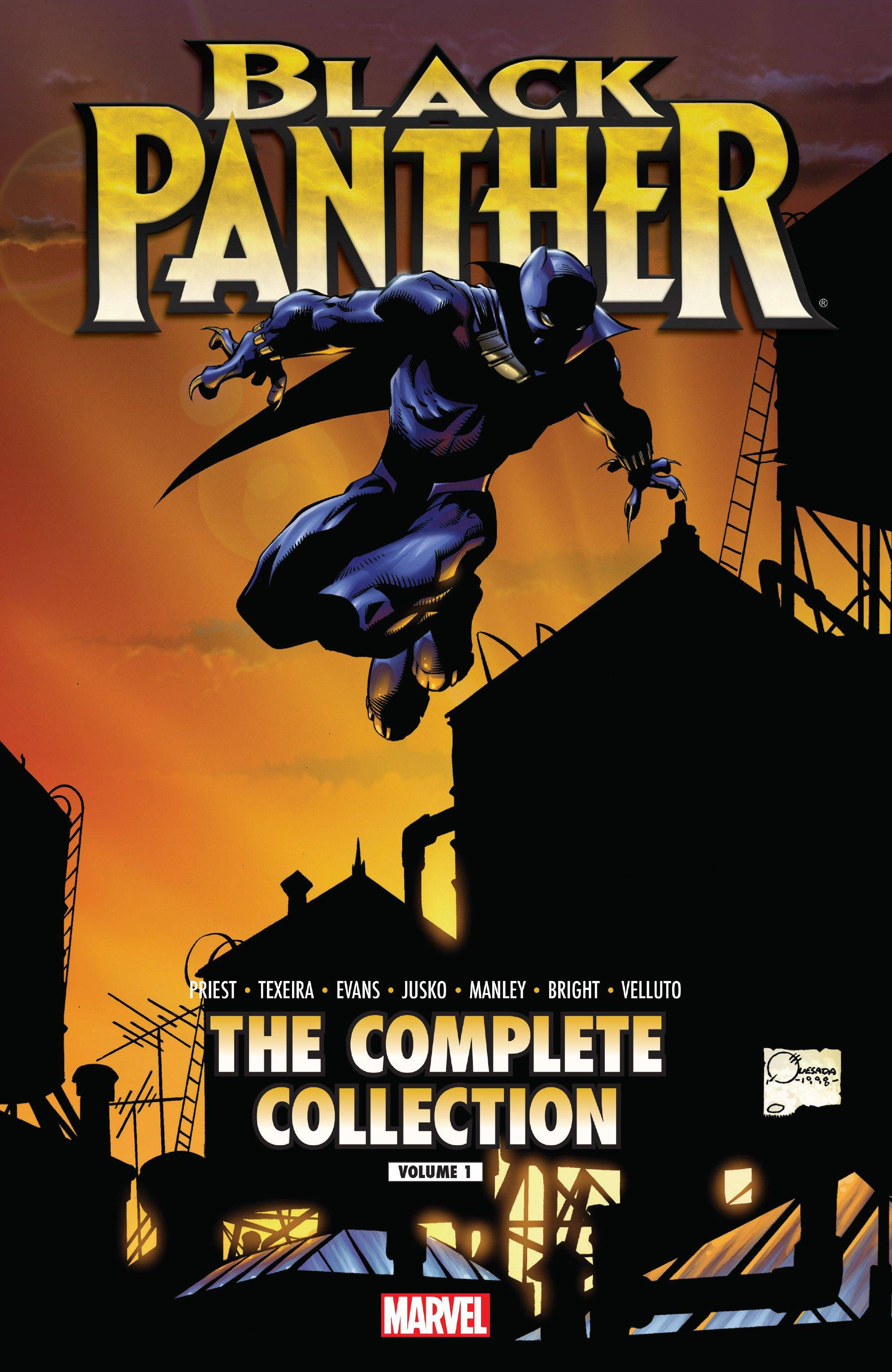 Black Panther by Christopher Priest: The Complete Collection TPB Vol 1 1