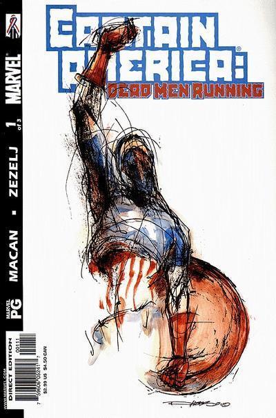 Captain America: Dead Men Running Vol 1 1