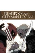 Deadpool vs. Old Man Logan Vol 1 1 Textless