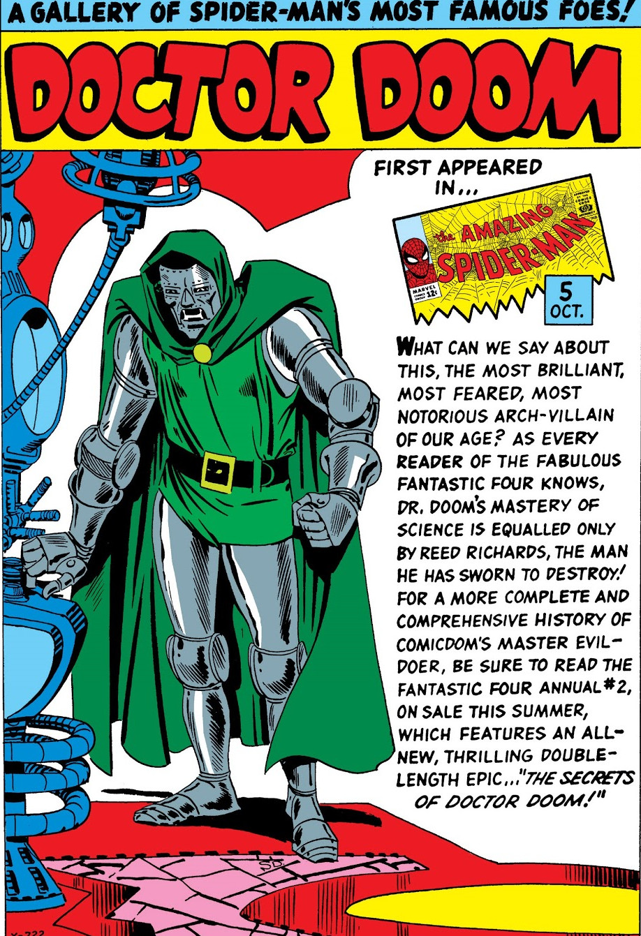 Doctor Doom Pin-Up from Amazing Spider-Man Annual Vol 1 1.jpg