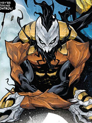 Hive (Poisons) (Earth-17952) Members-Poison D-Man from Venomized Vol 1 2 001.png