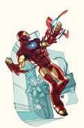 Invincible Iron Man Vol 3 1 CBLDF Variant Textless