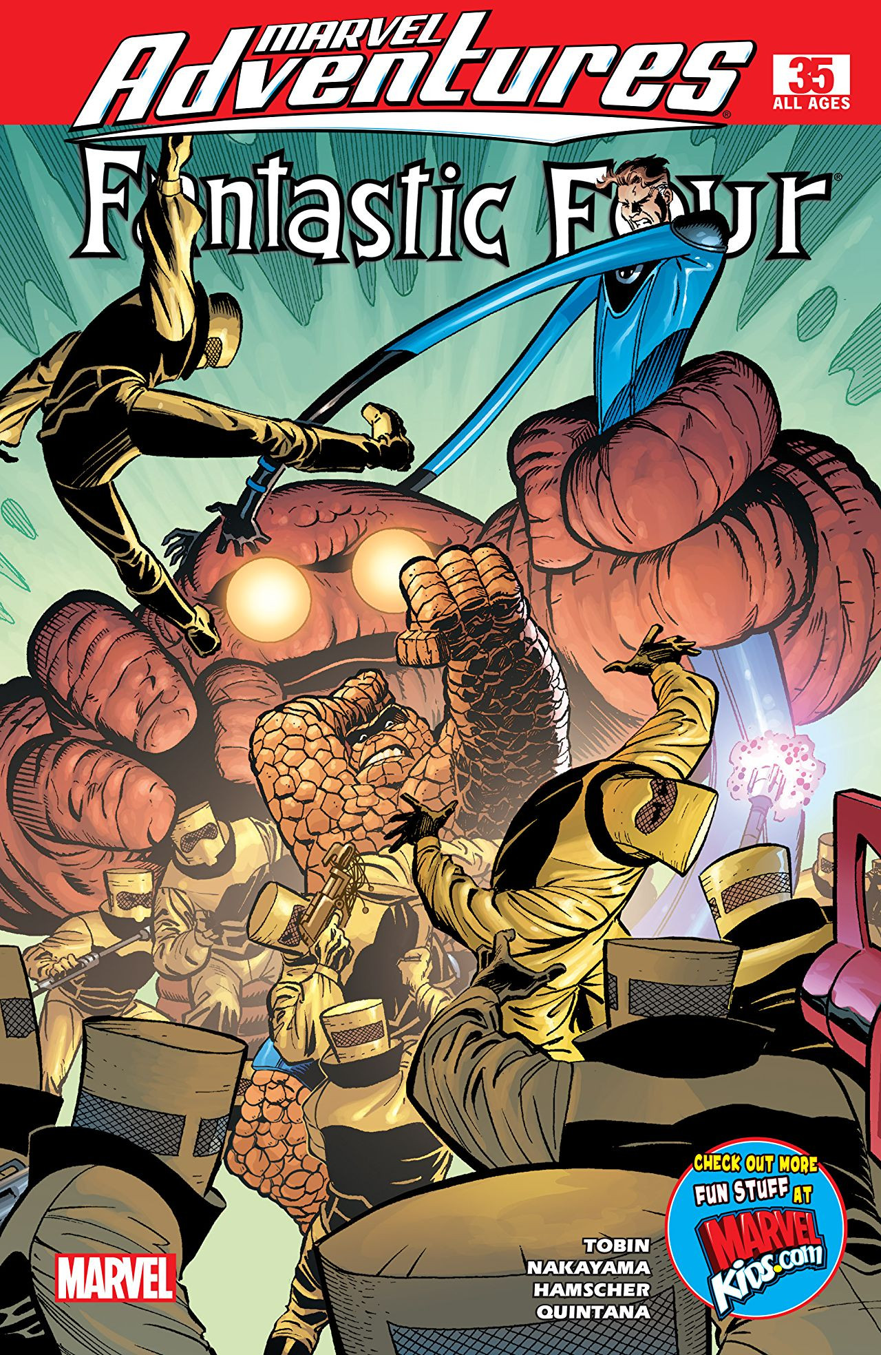 Marvel Adventures: Fantastic Four Vol 1 35