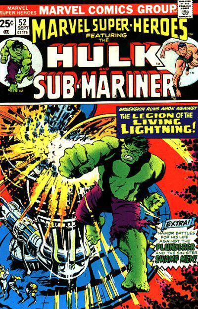 Marvel Super-Heroes Vol 1 52