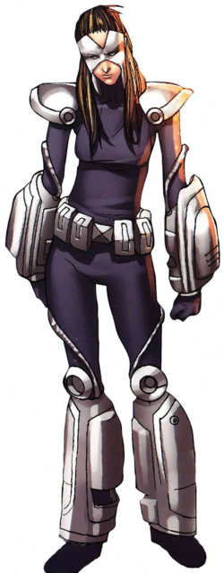 Michiko Musashi (Earth-616) from All-New Official Handbook of the Marvel Universe Vol 1 11 0001.png