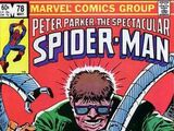 Peter Parker, The Spectacular Spider-Man Vol 1 78