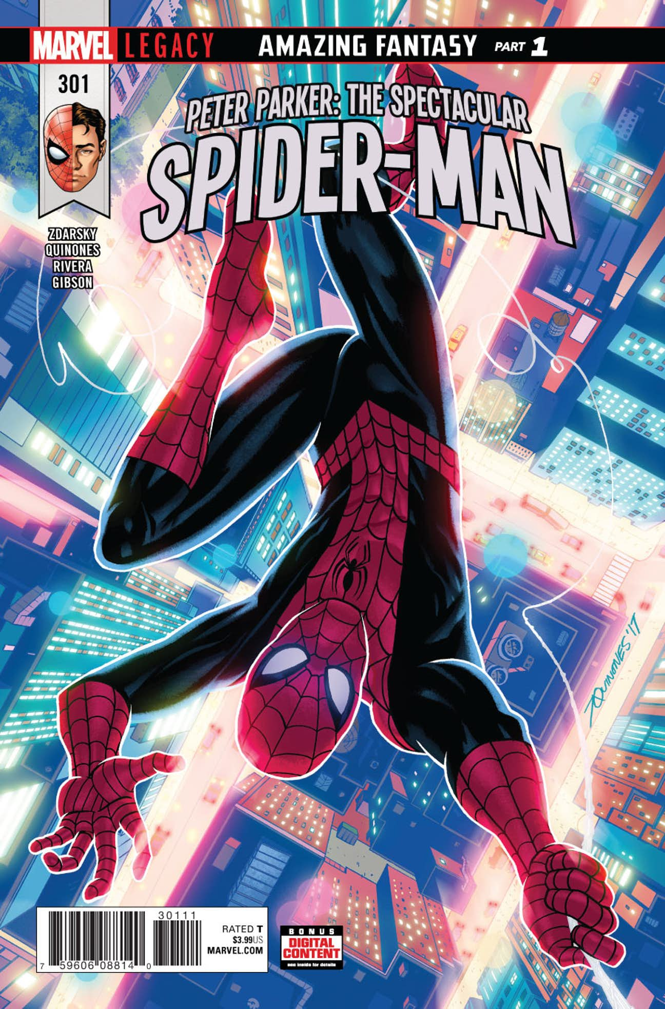 Peter Parker: The Spectacular Spider-Man Vol 1 301