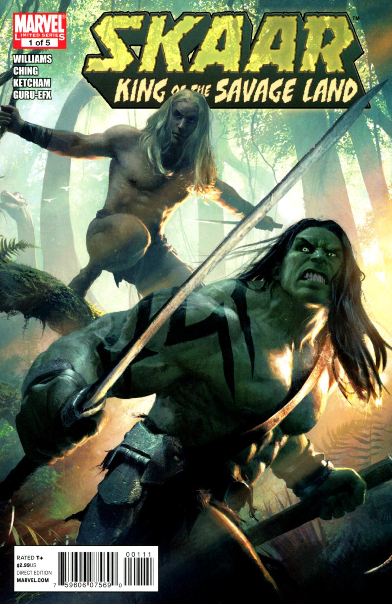 Skaar: King of the Savage Land Vol 1 1
