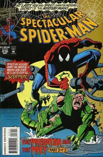 Spectacular Spider-Man Vol 1 216