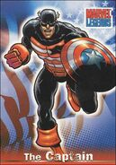 Steven Rogers (Earth-616) from Marvel Legends (Trading Cards) 0003