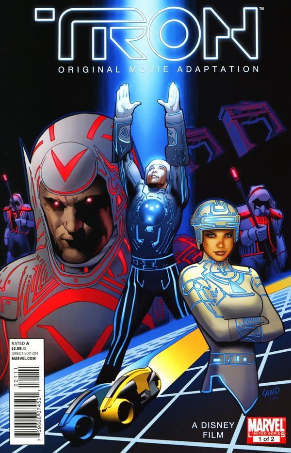 Tron: Original Movie Adaptation Vol 1 1