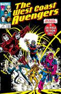 West Coast Avengers Vol 2 1