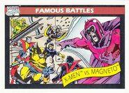 X-Men vs. Max Eisenhardt (Earth-616) from Marvel Universe Cards Series I 0001