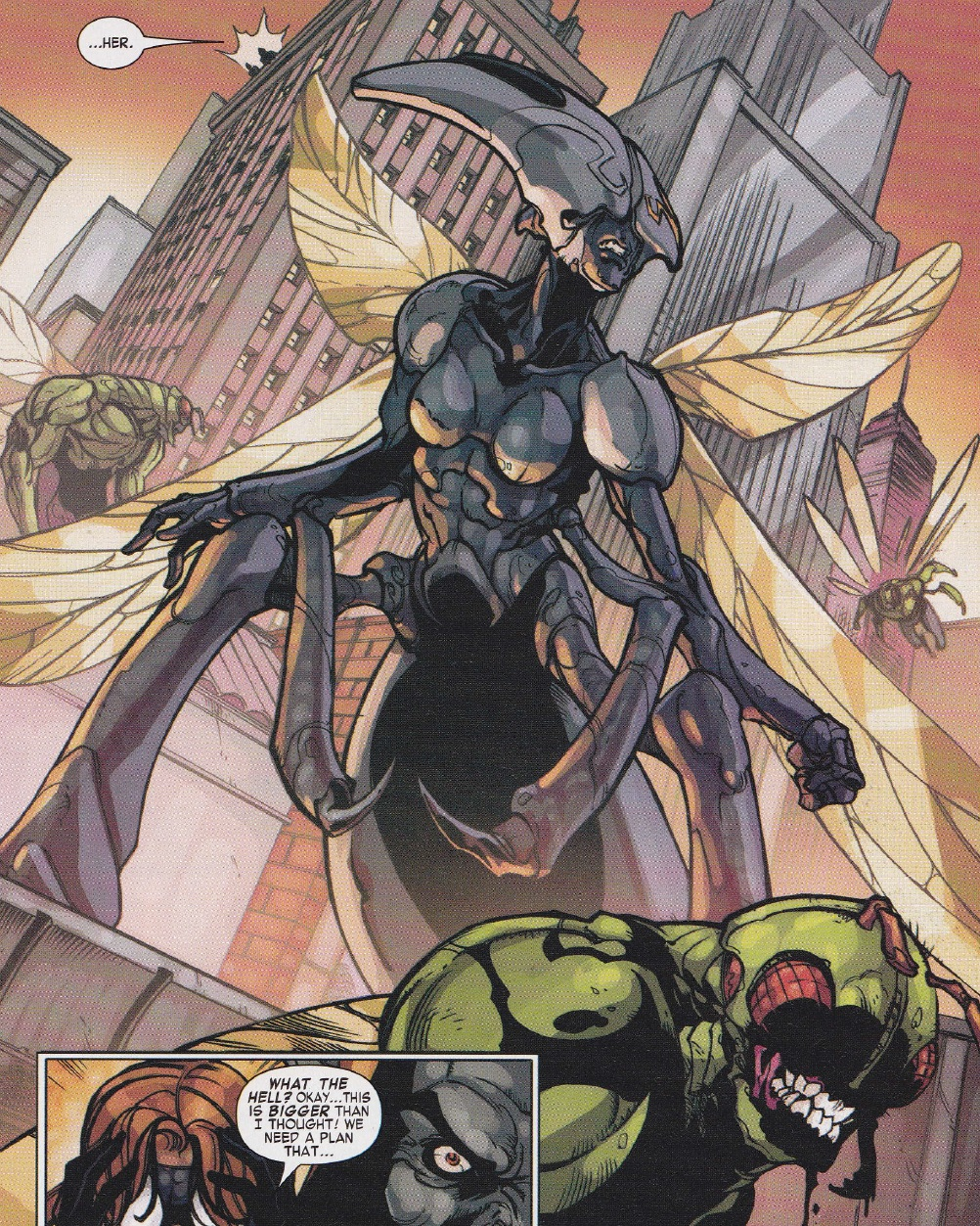 All-Mother (Sisterhood of the Wasp) (Earth-616)