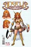 Angela Asgard's Assassin Vol 1 1 Design Variant