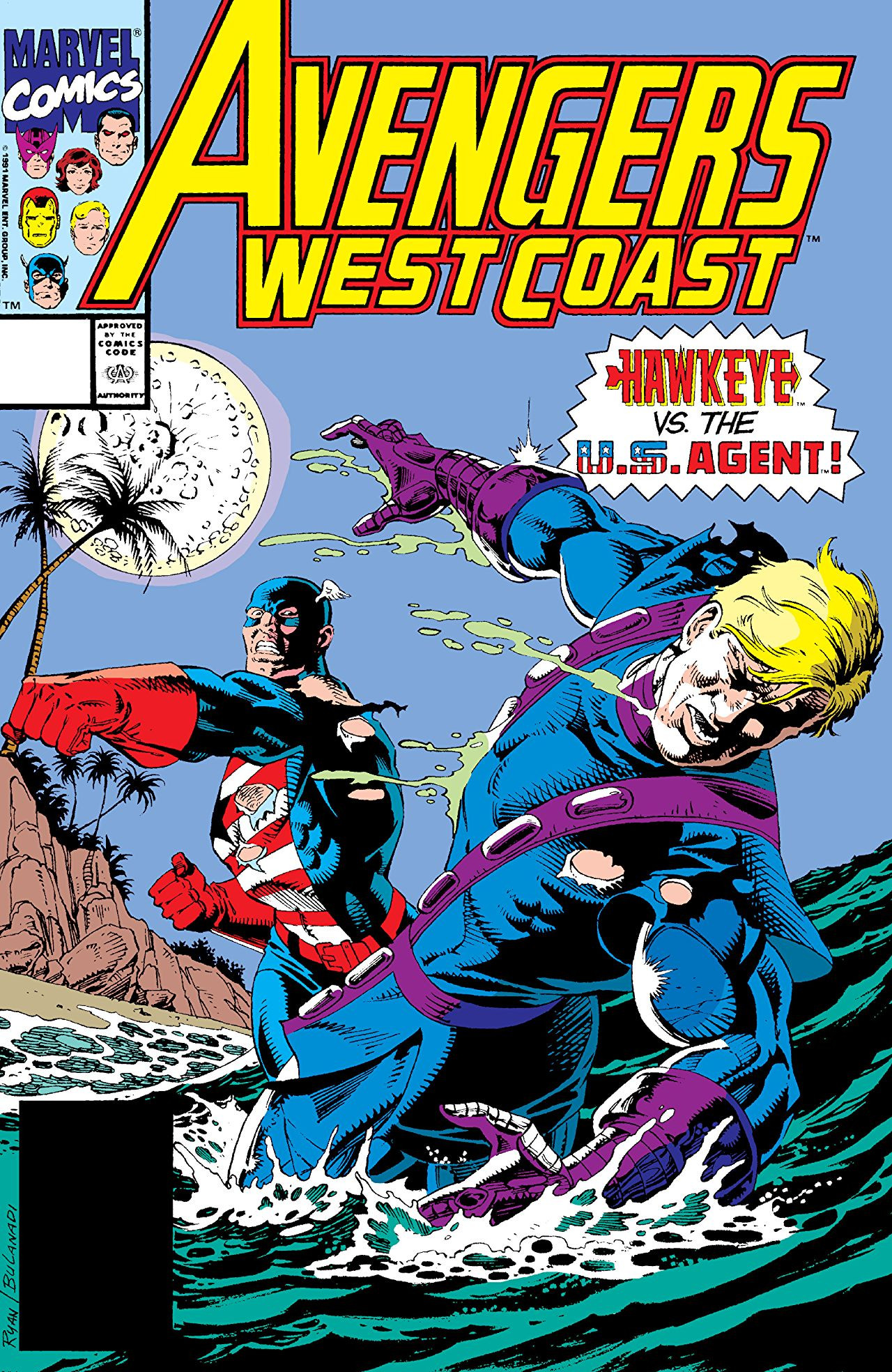 Avengers West Coast Vol 2 69