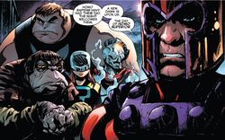 Brotherhood of Evil Mutants (Earth-18119) from Amazing Spider-Man Renew Your Vows Vol 2 6 001.jpg