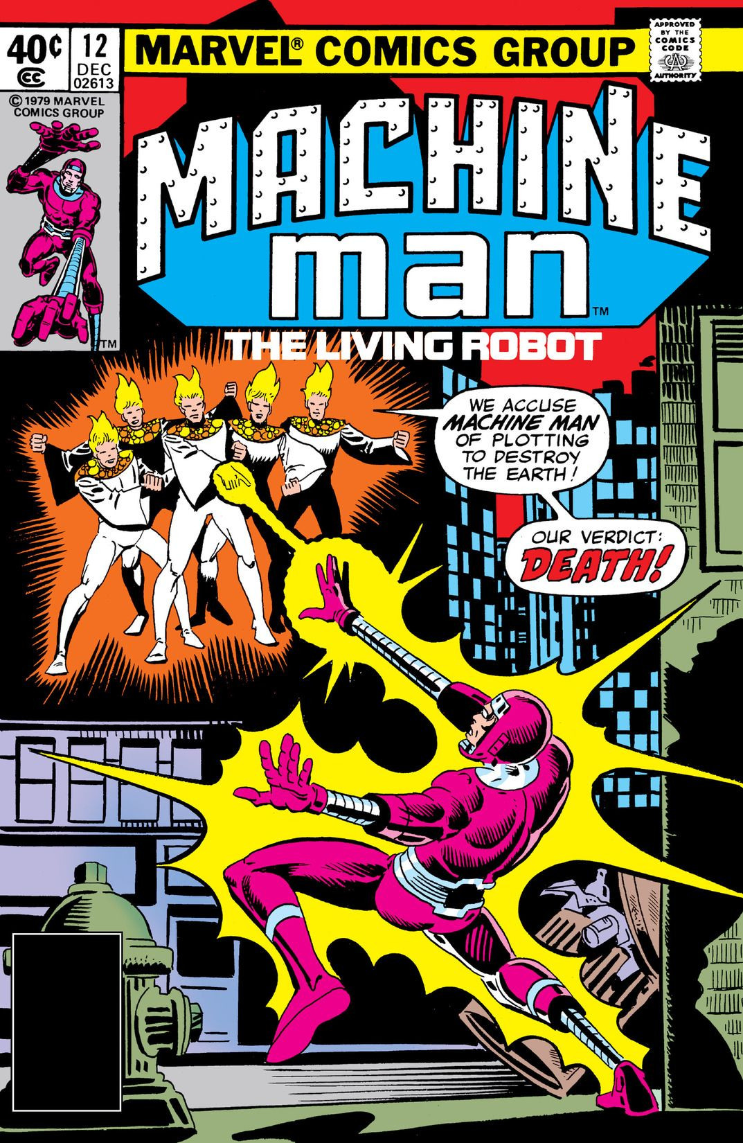 Machine Man Vol 1 12