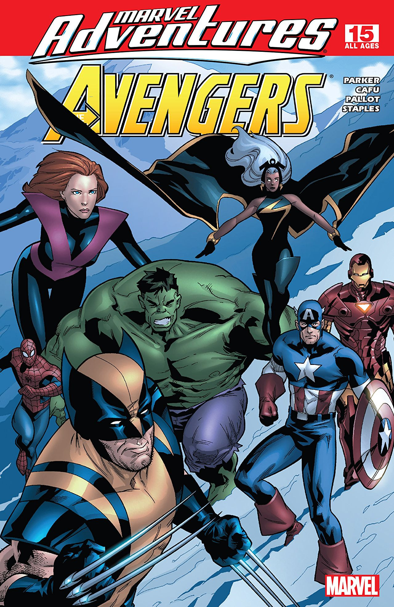 Marvel Adventures: The Avengers Vol 1 15