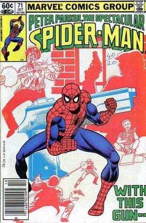 Peter Parker, The Spectacular Spider-Man Vol 1 71.jpg