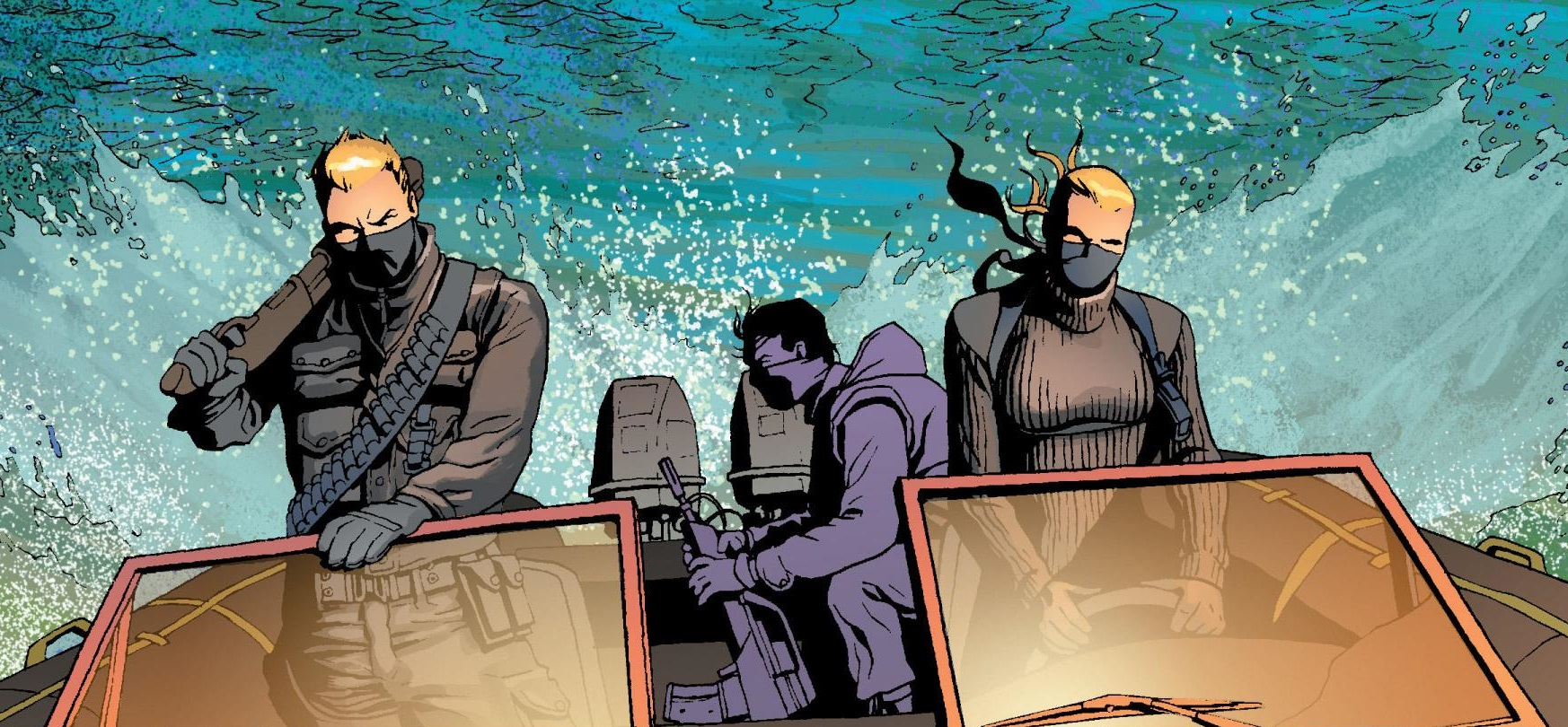 River Rats (Earth-200111)/Gallery