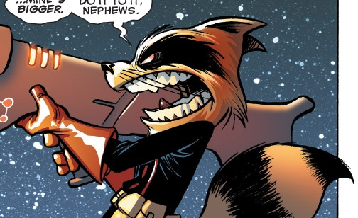 Rocket Raccoon (Earth-TRN421) from 100th Anniversary Special - Guardians of the Galaxy Vol 1 1 0001.jpg