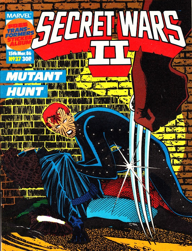 Secret Wars II (UK) Vol 1 37