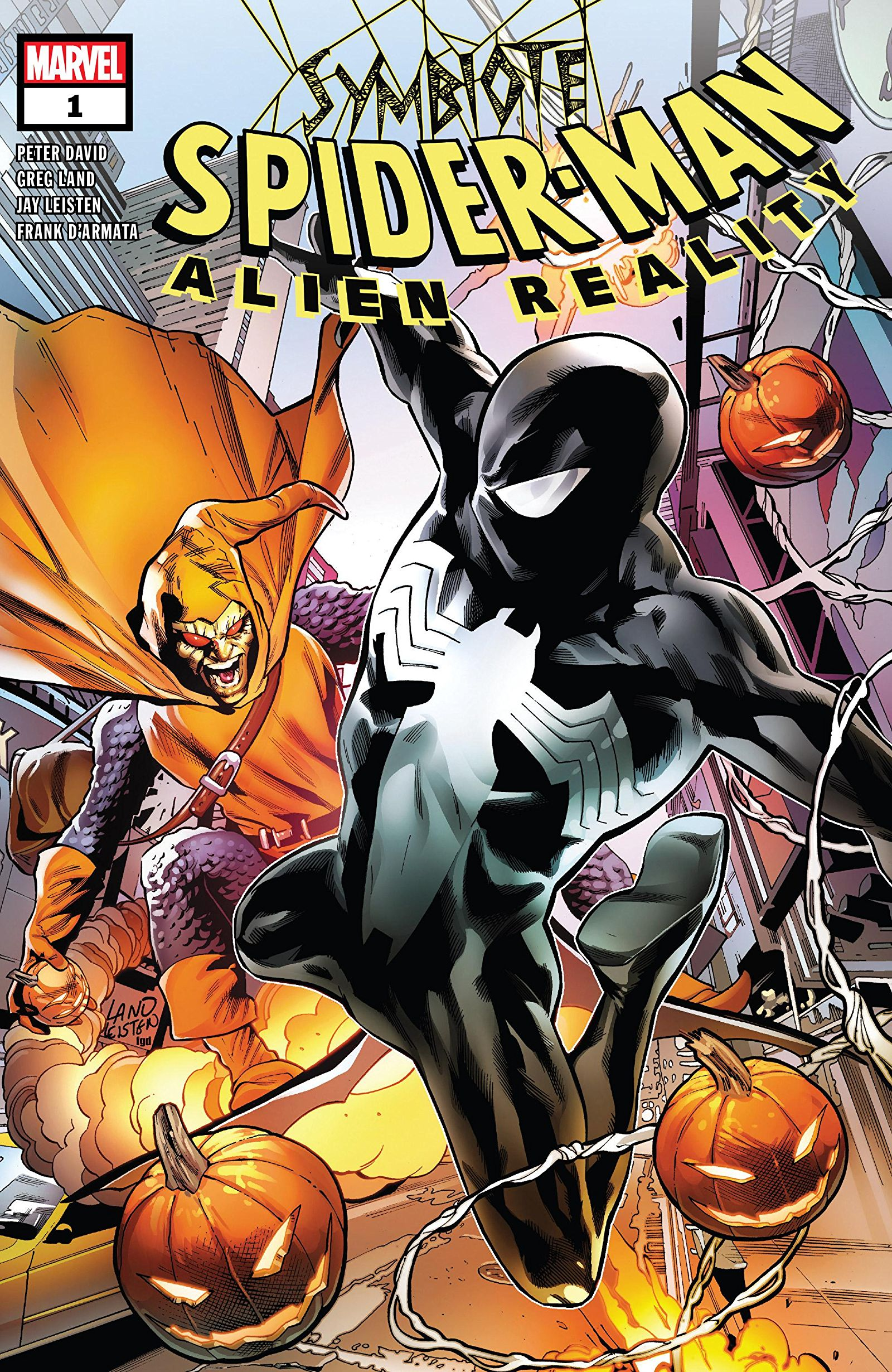 Symbiote Spider-Man: Alien Reality Vol 1 1