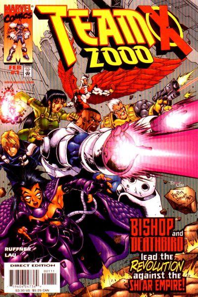 Team X 2000 Vol 1