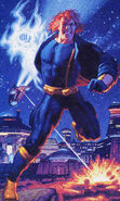 Timothy Fitzgerald (Earth-928) from Marvel Masterpieces (Trading Cards) 1994 Set 001