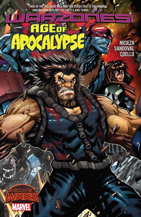 Age of Apocalypse TPB Vol 2 1: Warzones!