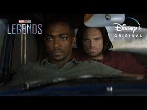 Falcon and Winter Soldier - Marvel Studios Legends - Disney+