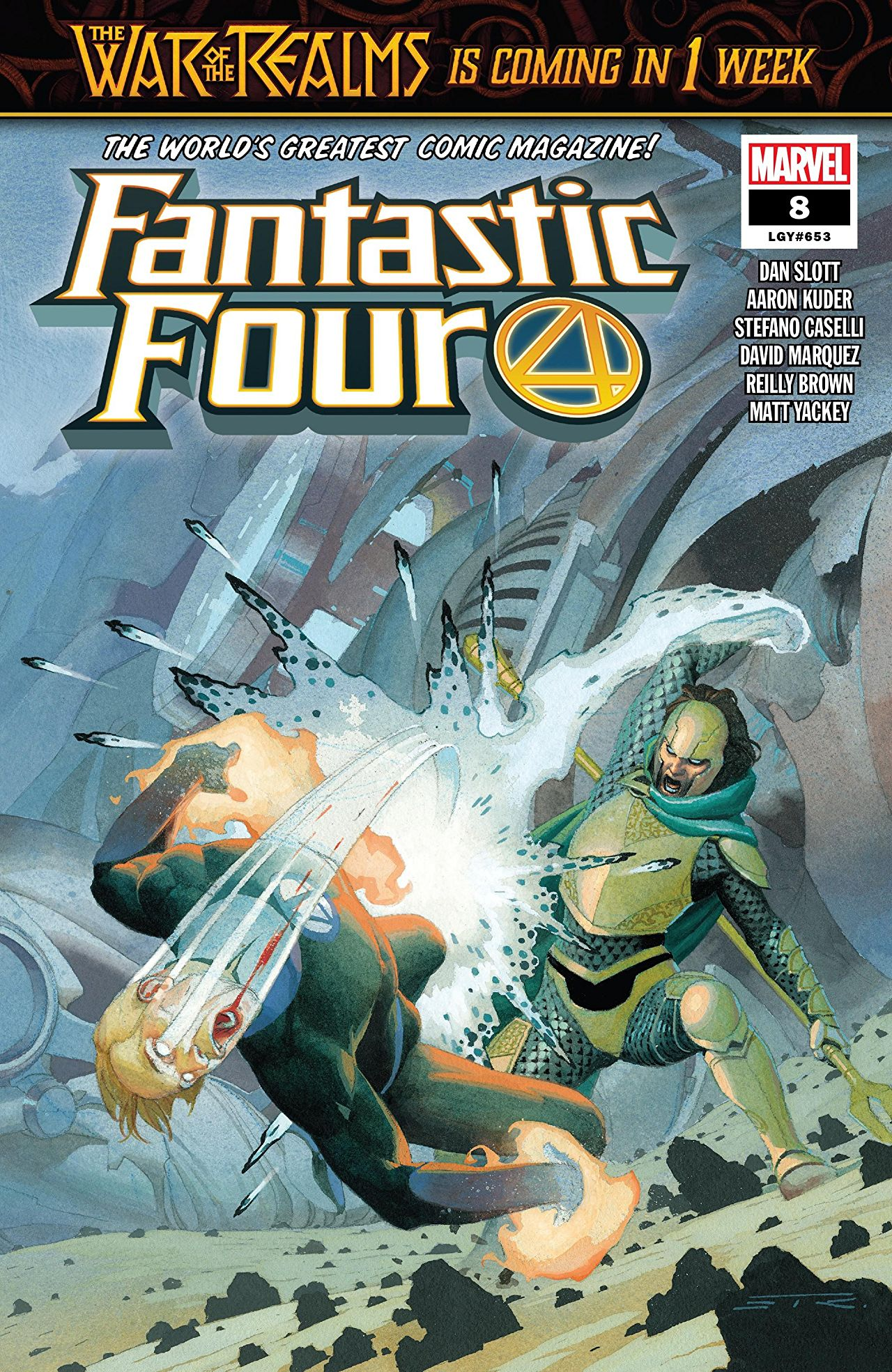 Fantastic Four Vol 6 8