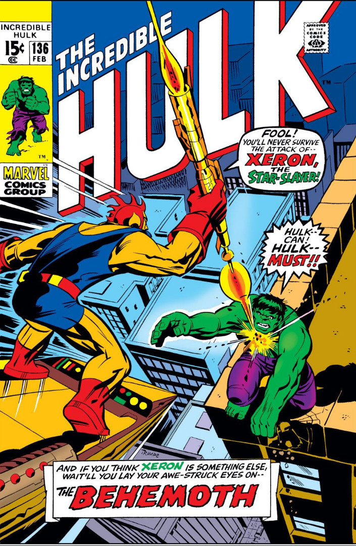 Incredible Hulk Vol 1 136