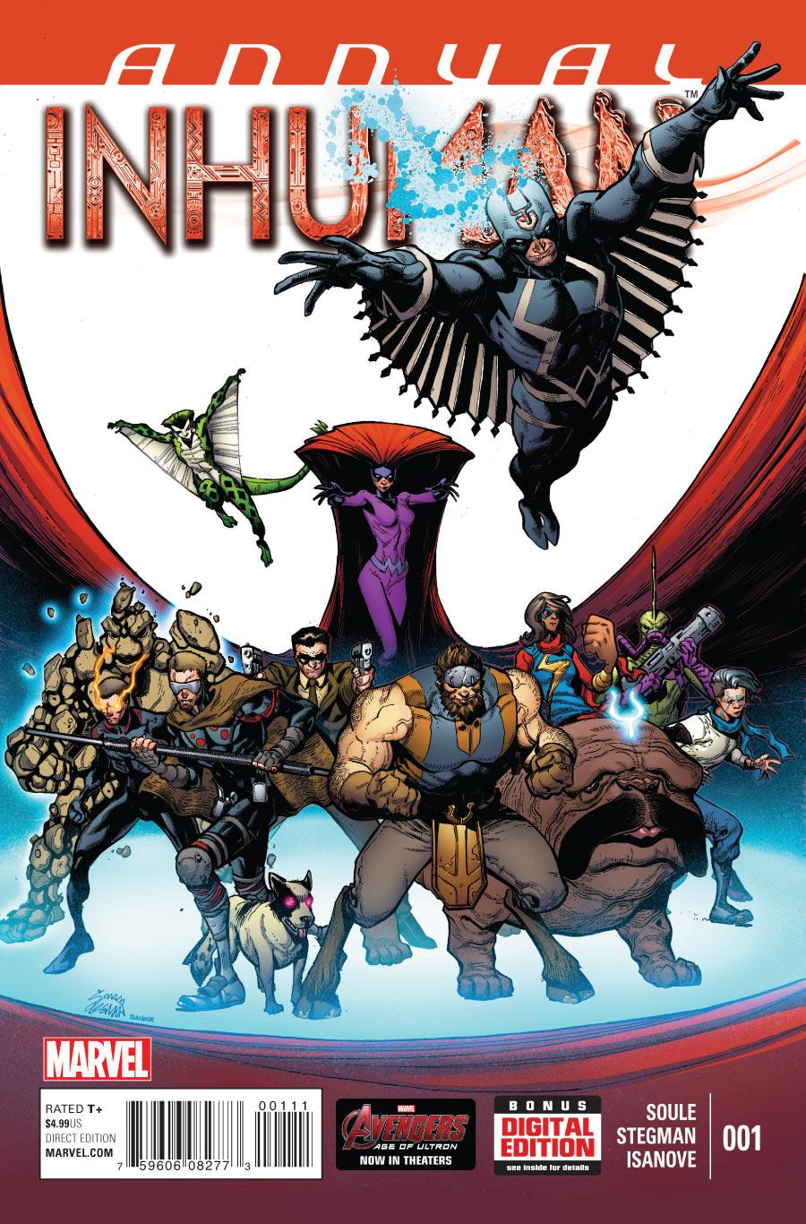 Inhuman Annual Vol 1 1